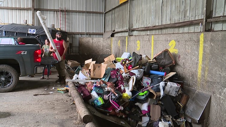 Changes at the recycling transfer station