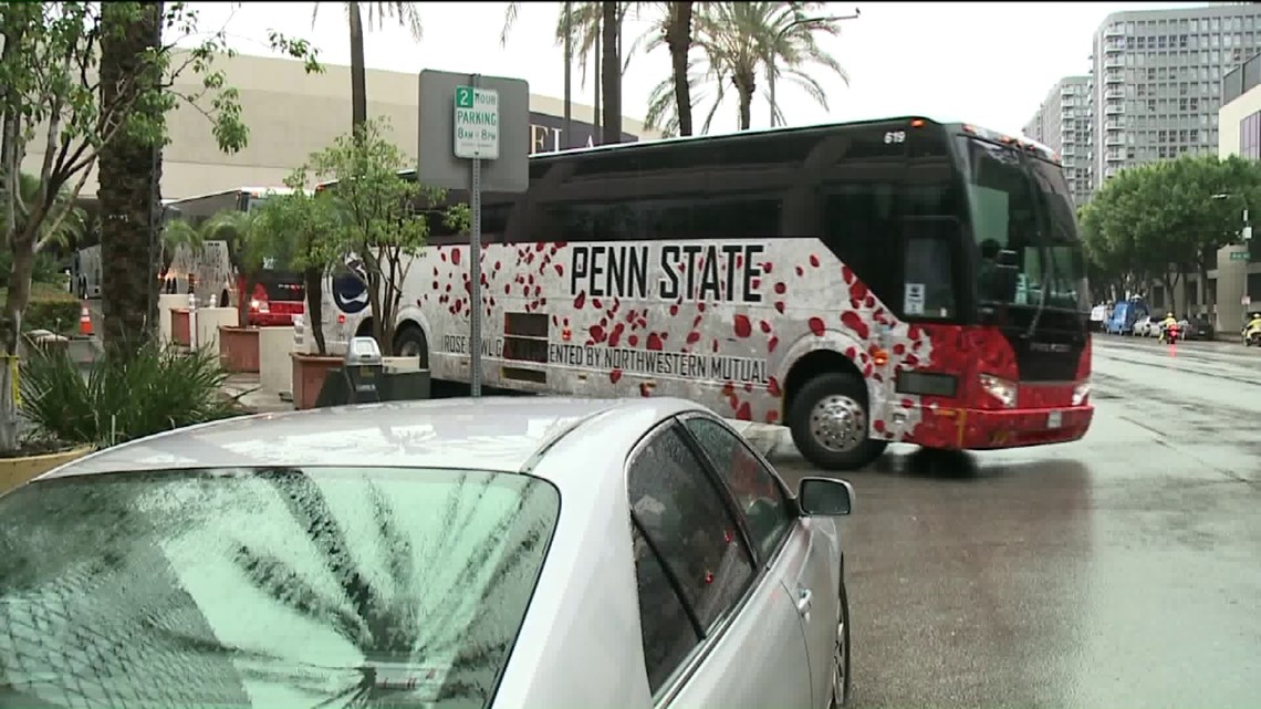 Penn State Fans Enjoy The Sights Of Southern California Wnep Com