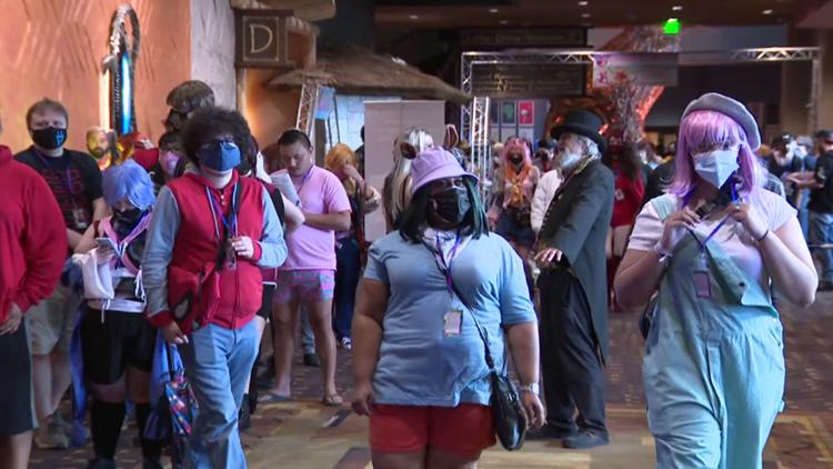 Anime convention takes over Kalahari Resort