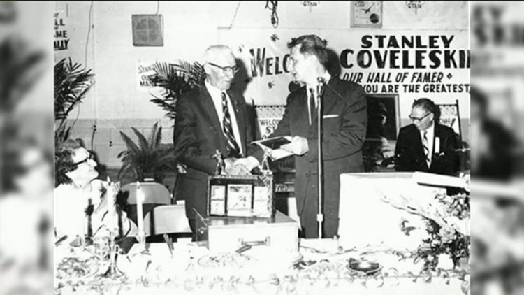 Sports Video Vault: historic interview with hall of fame pitcher Stan Coveleski found
