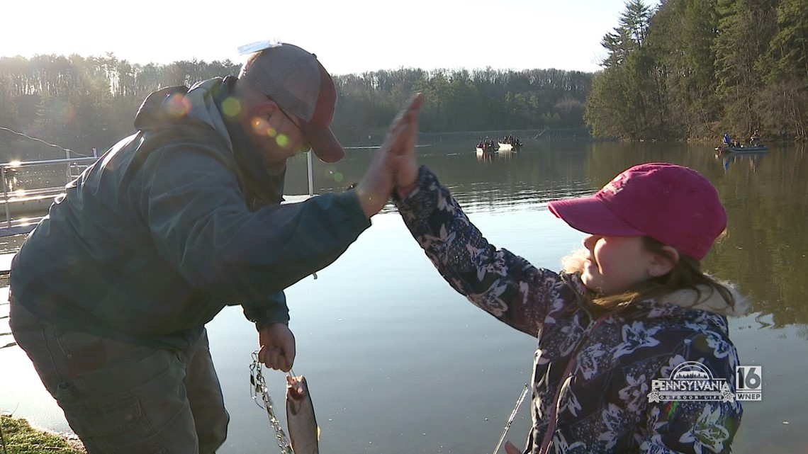 Mentored Youth Trout Day