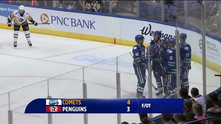 WBS Penguins Fall to Comets in Overtime in Home Opener