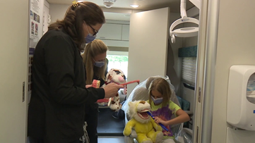 Haircuts and health for children with autism