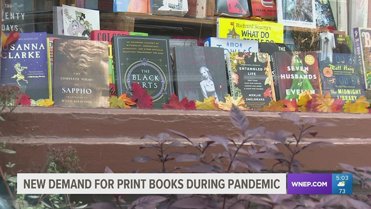 New demand for print books during pandemic