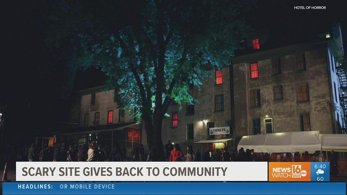 Haunted attraction in Saylorsburg hopes to spark much needed help for local fire department