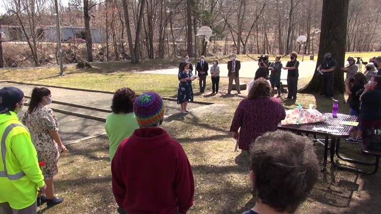 Ceremony in Honesdale remembers lives lost during pandemic