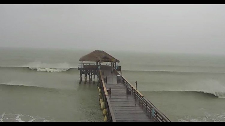 Live Streams From Cameras in East Coast Towns in Dorian's Path