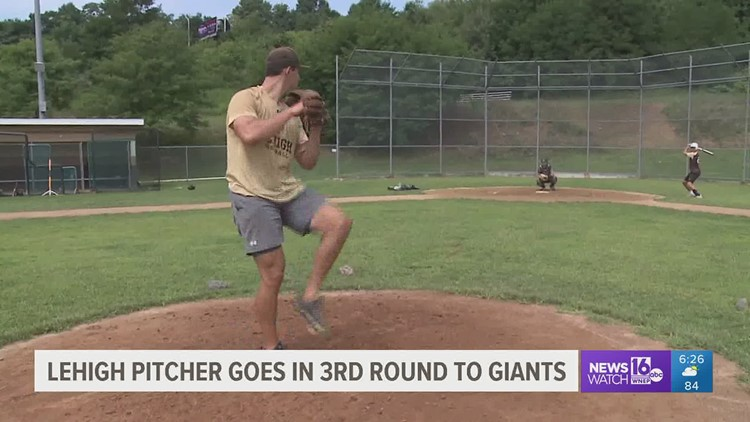 Former Valley HS and Lehigh U pitcher Mason Black talks about being drafted in RD 3 of the MLB Draft by the Giants.