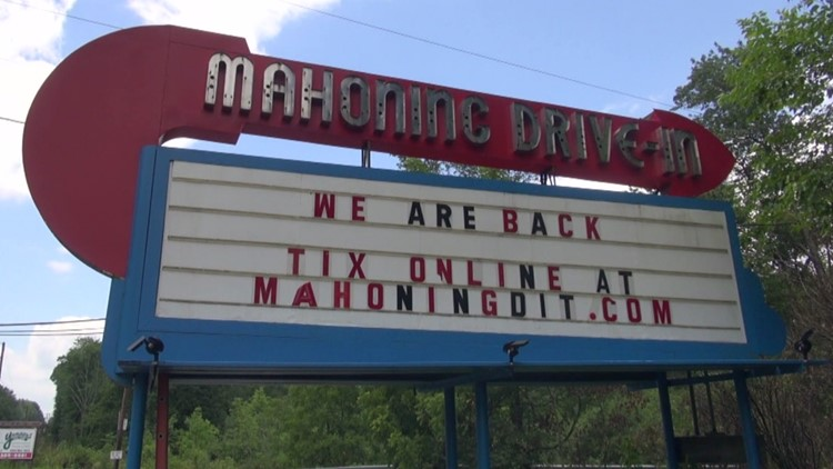 Mahoning Drive-In Theater saved in one day