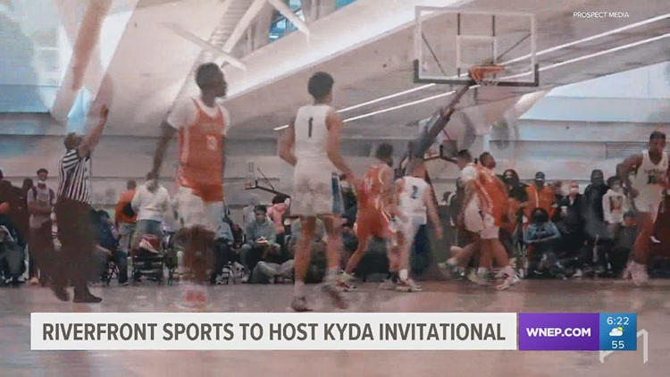 KYDA Basketball Invitational tips off this weekend at Riverfront Sports in Scranton.  Three of the top ten HS recruits in the country will play.