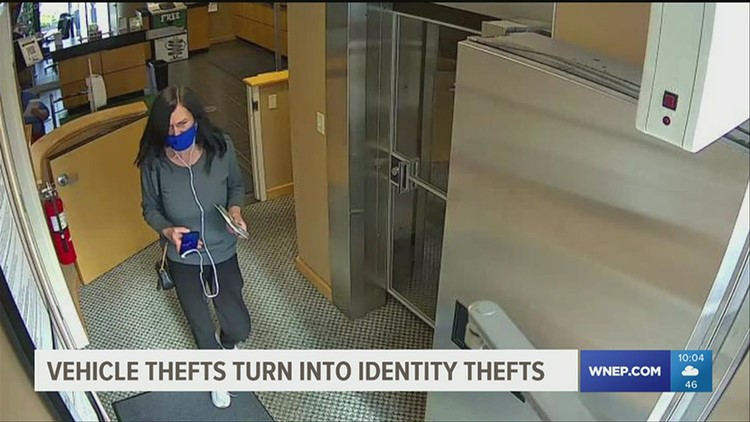 Police: Vehicle thefts turn into identity thefts