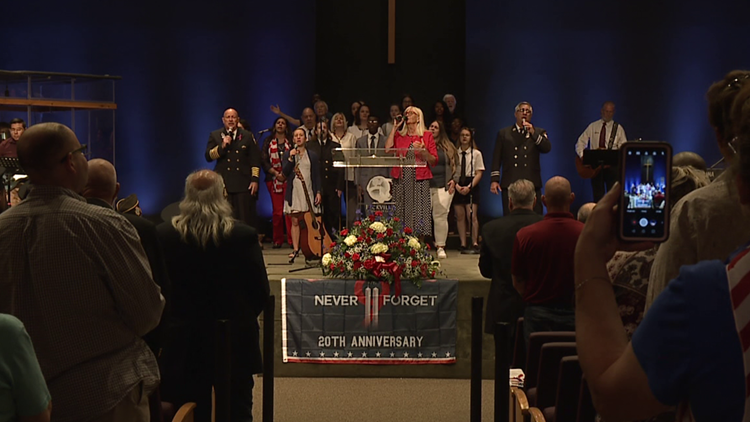 Memorial service in Lackawanna County honors first responders
