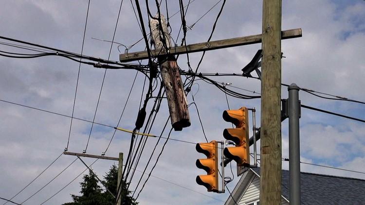 Newswatch 16 Investigates: Pole Problems Vex Local Communities