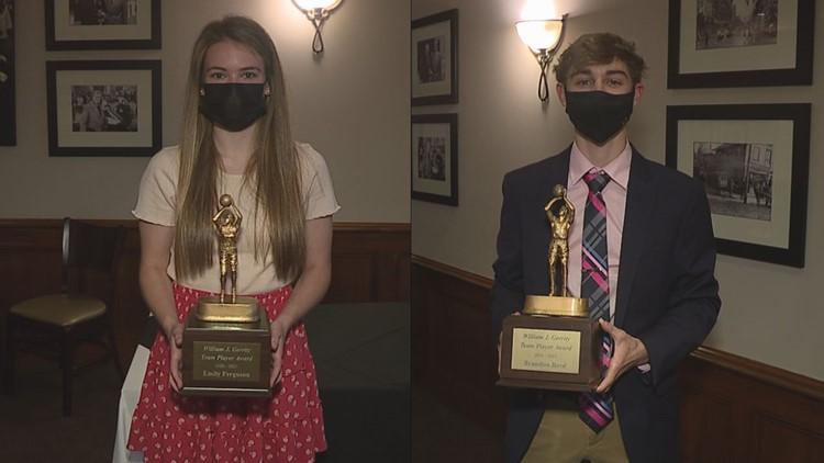 Ferguson, Reed Win William J. Gerrity Award