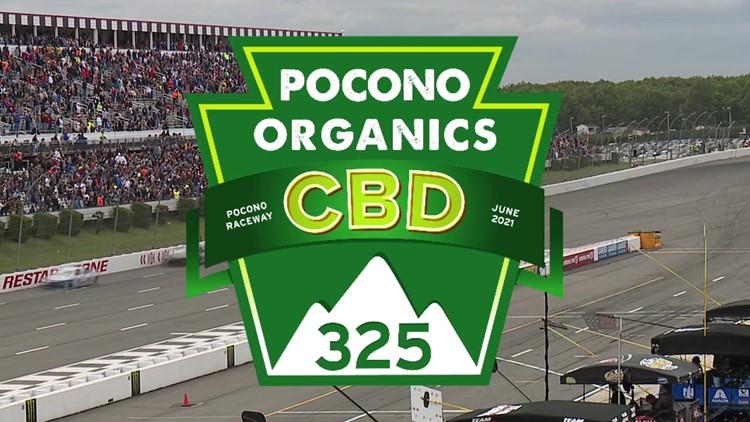 Pocono Organics CBD to sponsor Saturday's NASCAR Cup Series race