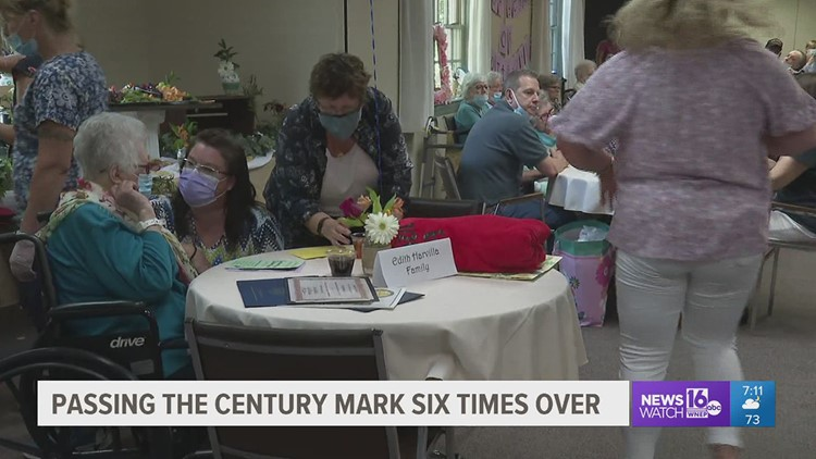 Nursing home celebrates 6th resident reaching 100