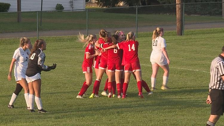 Mount Carmel Area Tops Southern Columbia 3-2 in Girls Soccer Showdown