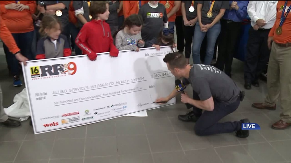 WNEP's Ryan's Run 9 Raises More Than $600,000