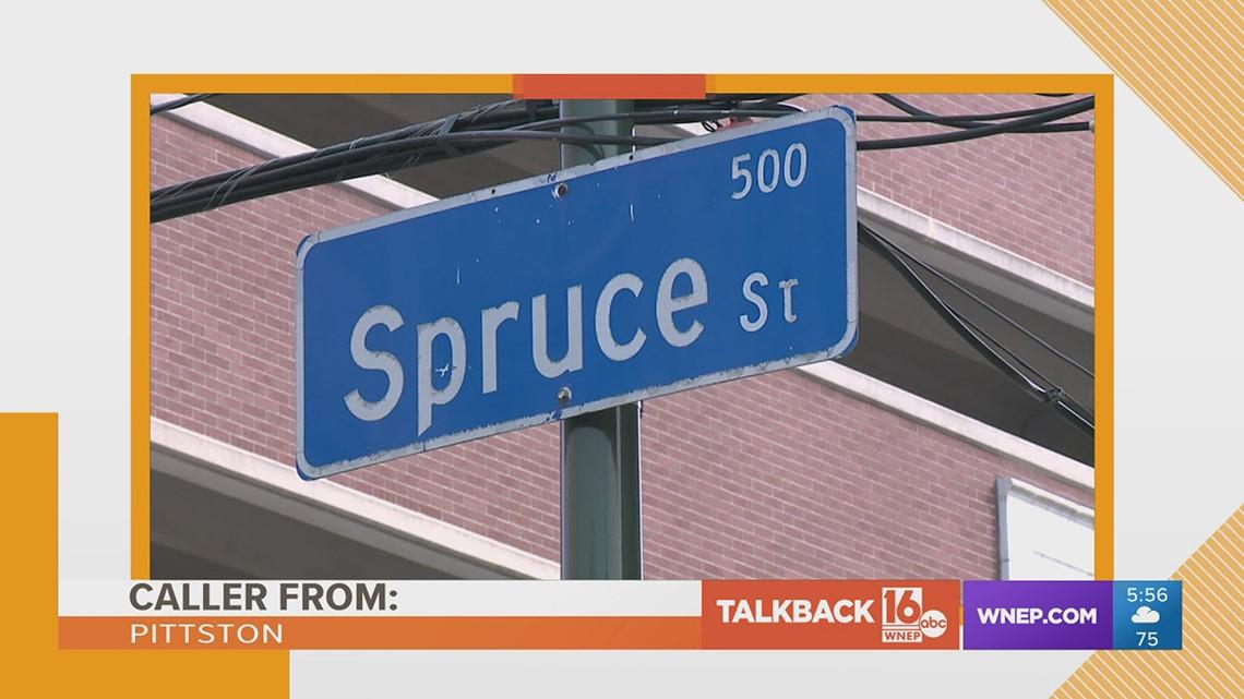 Talkback 16: Renaming a street after President Biden