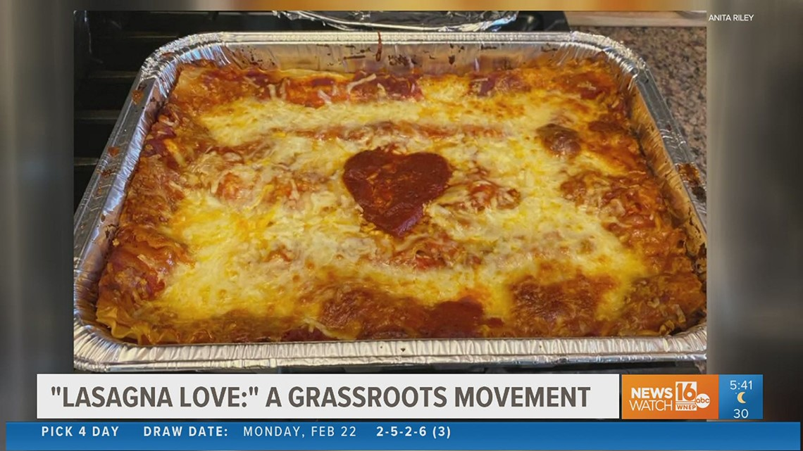 Lasagna Love: Getting more families involved in grassroots movement in our area