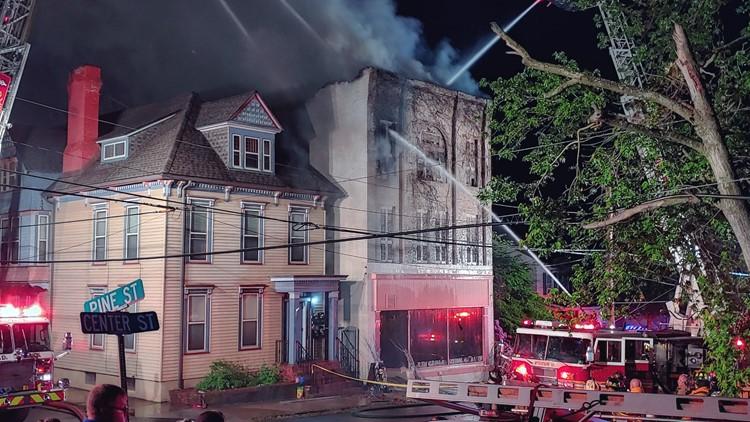 Fire damages dance studio in Danville