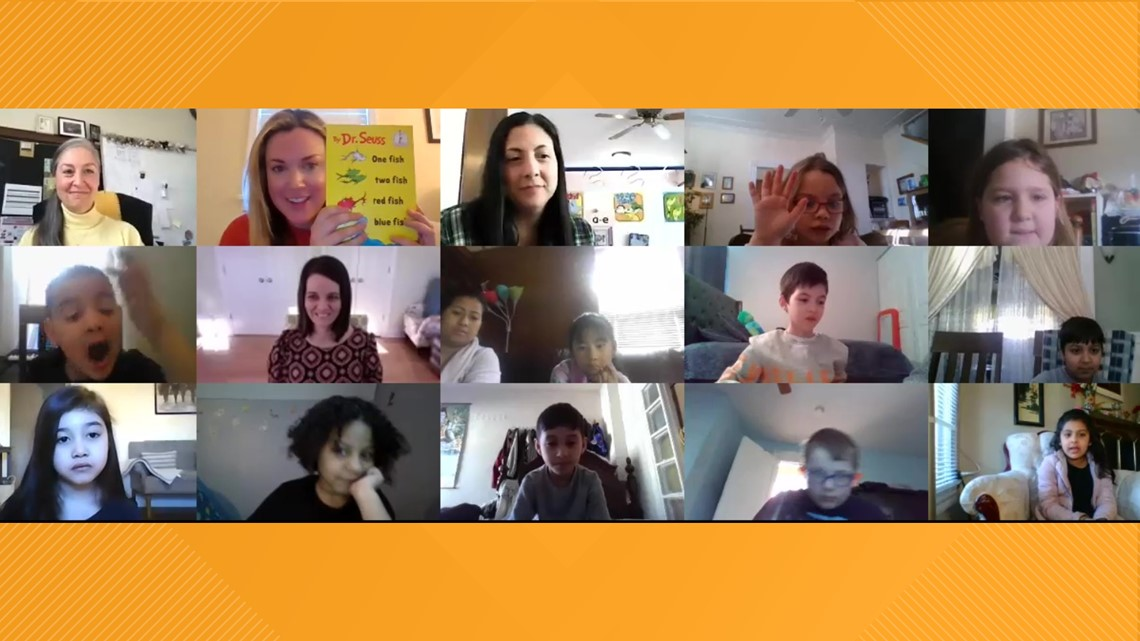 Virtual 'Read Across America' with Stacy Lange
