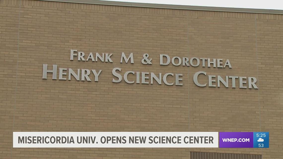 Misericordia University opens new science center