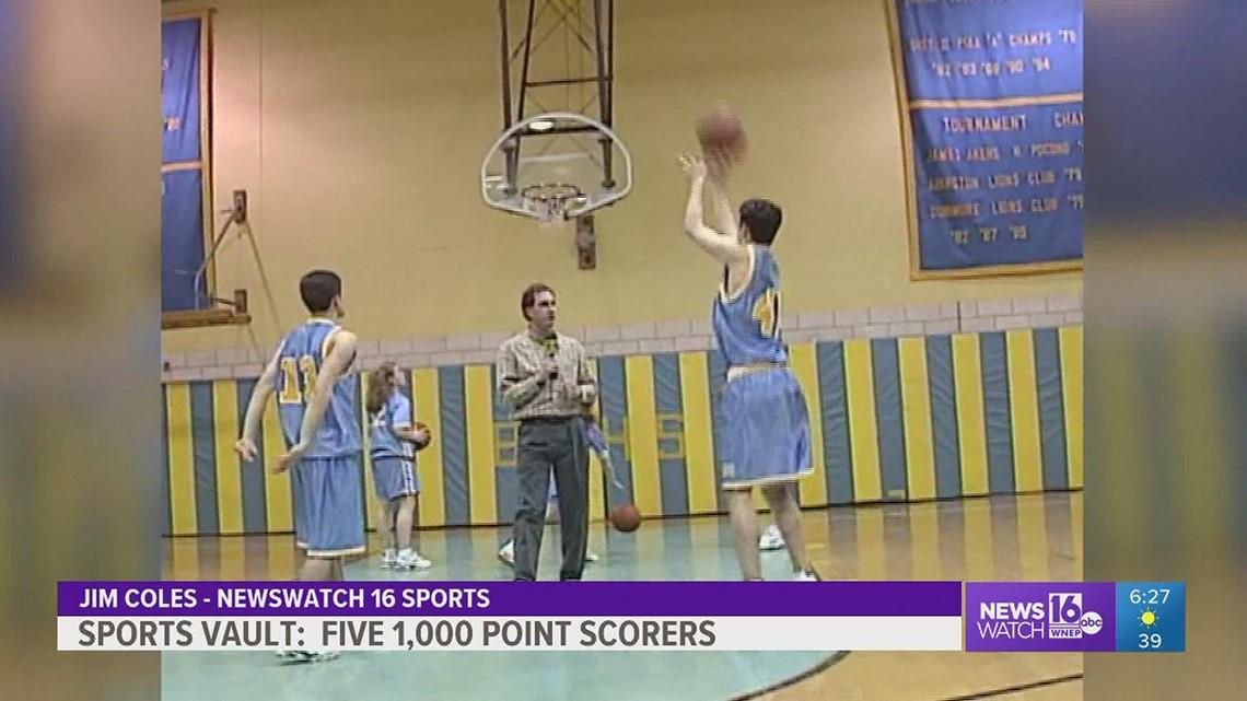 Sports Vault: 1996                  Five Bishop O'Hara basketball players hit 1,000 point plateau in same season.