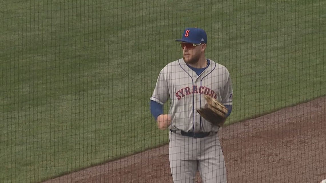 Travis Blankenhorn Finding a Home in Mets Organization