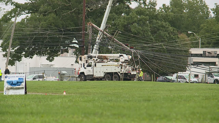 Penn State RV lot reopens after storm damage