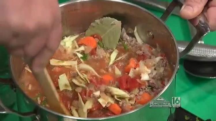 Jake's Venison Piggy Soup
