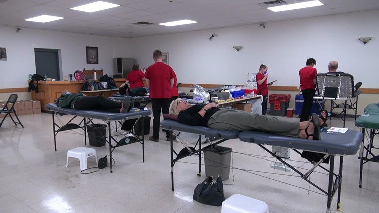 Donors needed to help with blood shortage