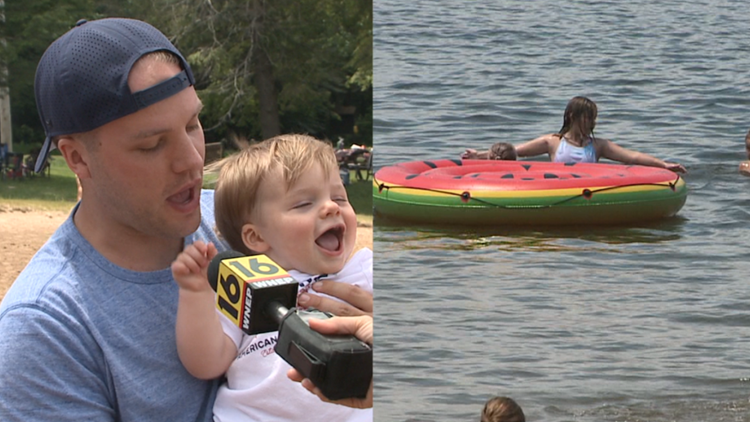 A Father's Day gift: Lake Jean reopens for swimming over the weekend