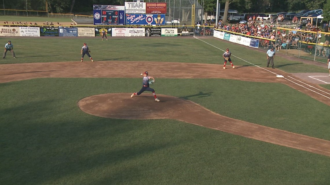 Greater Pittston Area Rallies Past Valley West 9-7 at Little League State Tournament
