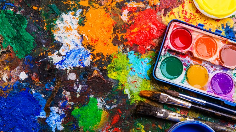 Learn Indian Folk Art, then help paint the town