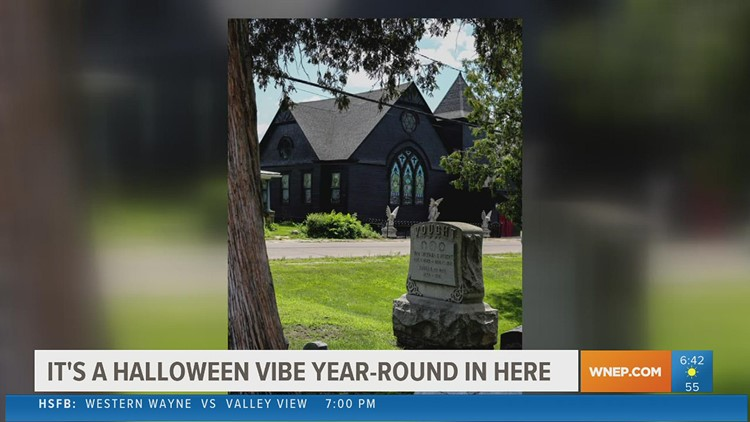 Berwick church transformed into gothic home, becoming 'Halloween Central'
