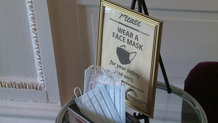 Mixed reactions among businesses regarding lifted mask mandate in Lackawanna County