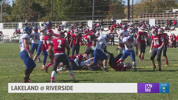 High School Football: Lakeland vs Riverside