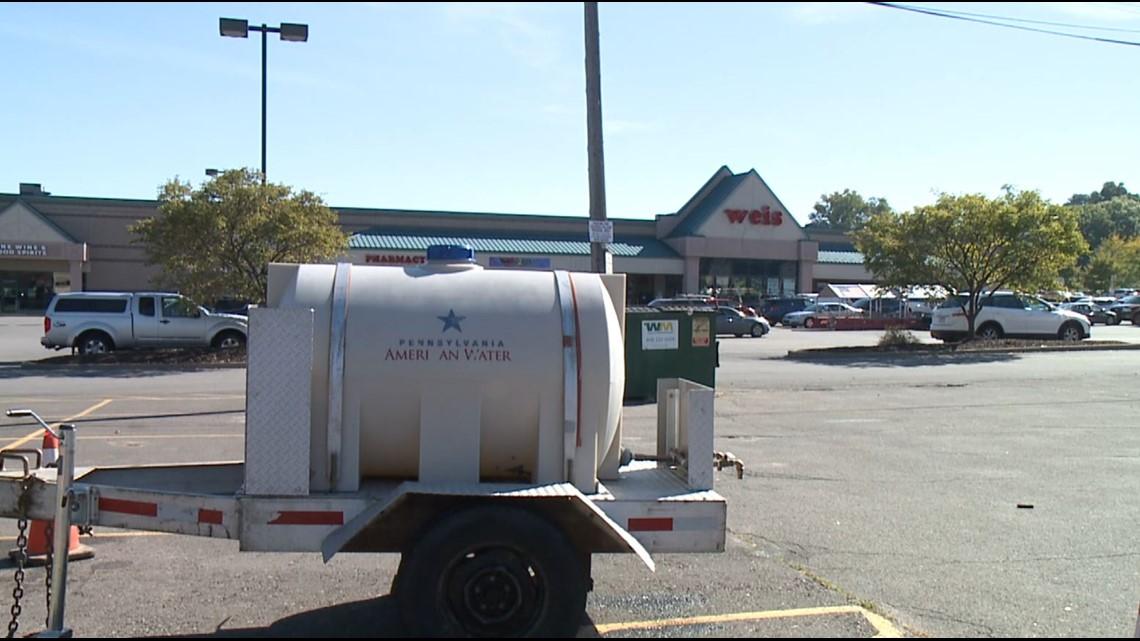 Update: Pennsylvania American Water finds water main break in Luzerne County