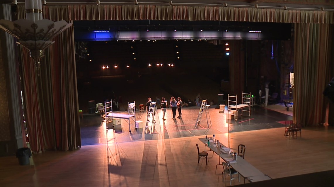 Grants help performance venues reopen the stage