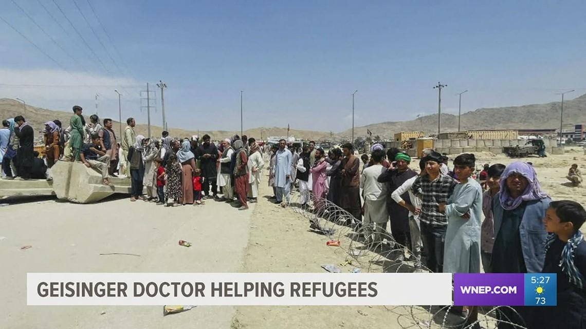 Healthwatch 16: Geisinger doctor helping Afghan refugees