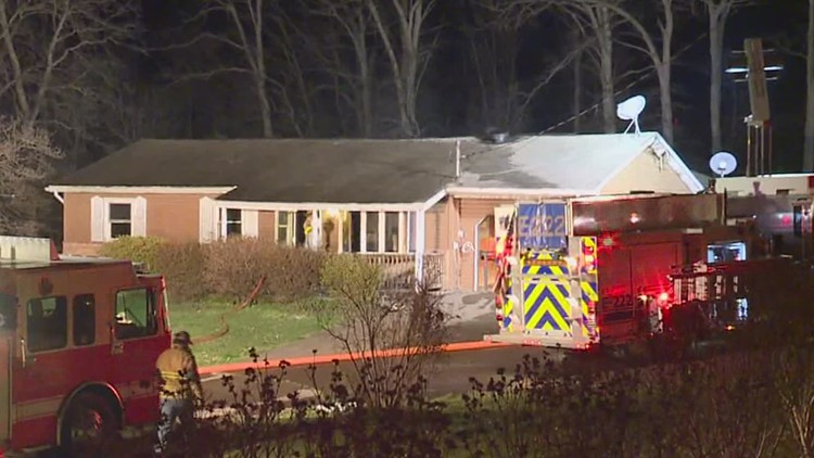 Fire tears through house in Columbia County