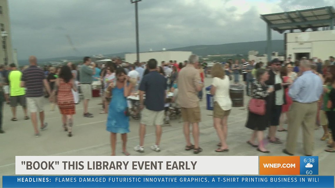 Osterhout Free Library in Wilkes-Barre is bringing back its rooftop bash
