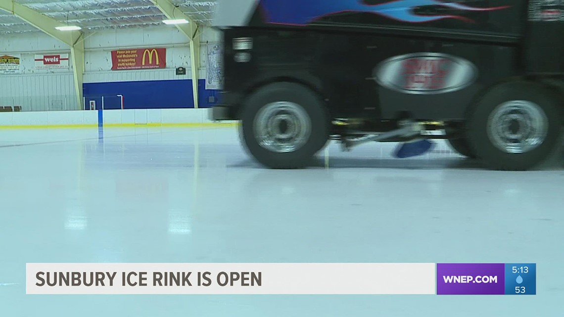 Sharpen your blades: The Sunbury Ice Rink is open to the public