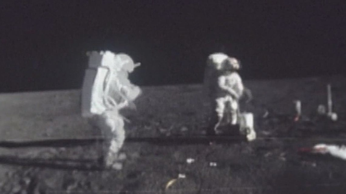 Wham Cam: What was left behind on the moon?