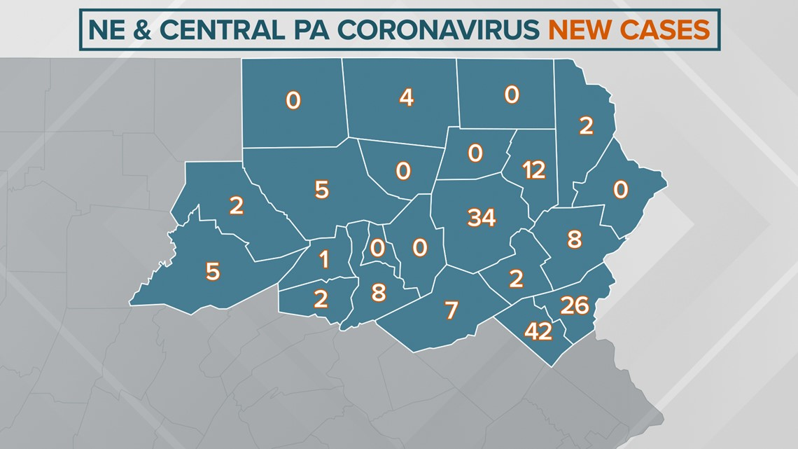COVID-19 Update: More than 110,000 cases in PA   wnep.com