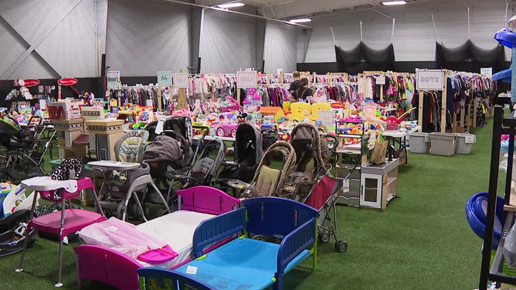 Consignment sale brings out bargain shoppers in Union County
