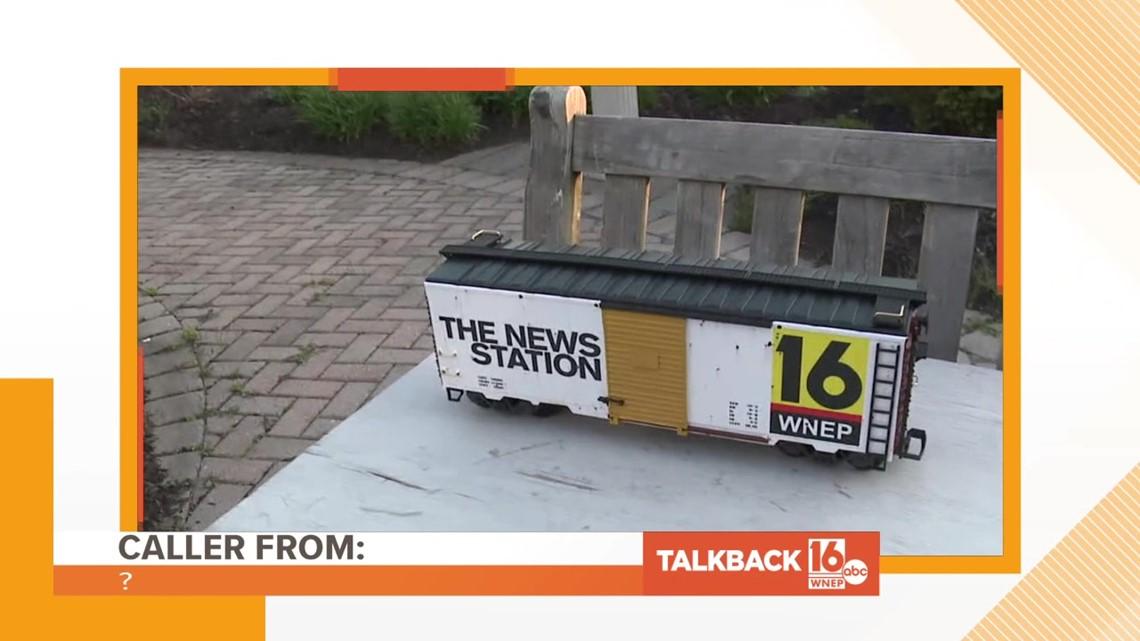 Talkback Feedback: Blah, blah, blah ties and trains