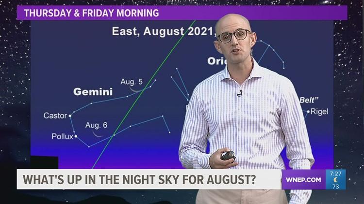 Skywatch 16: The August sky
