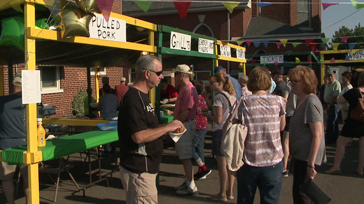 Block party hosted at Carbon County church